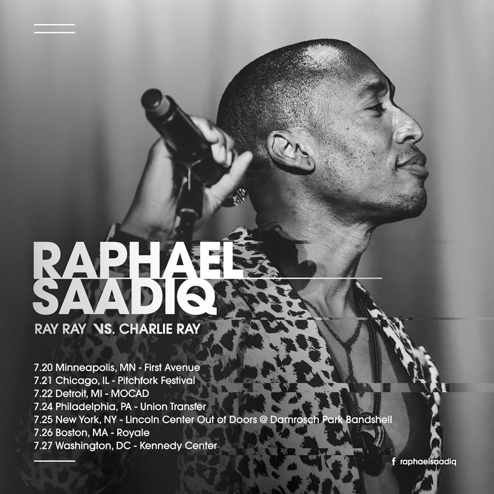 Raphael Saadiq Ray Ray vs Charlie Ray Tour