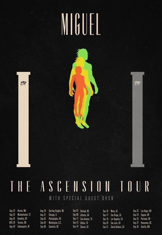 Miguel The Ascension Tour