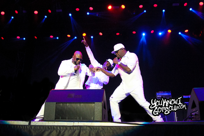 Recap & Photos: Boyz II Men Perform At Pacific National Exhibition in Vancouver, Canada 8/18/18