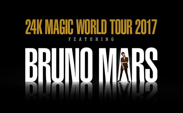 Bruno Mars 24K Tour