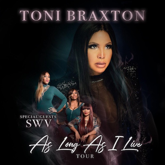 Toni Braxton As Long As I Live Tour
