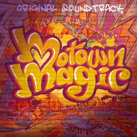 Motown Magic Soundtrack Cover