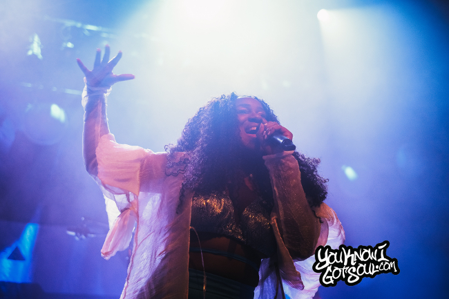 "NAO Performs on ""Saturn Tour"" at Vogue Theatre In Vancouver (Recap & Photos)"