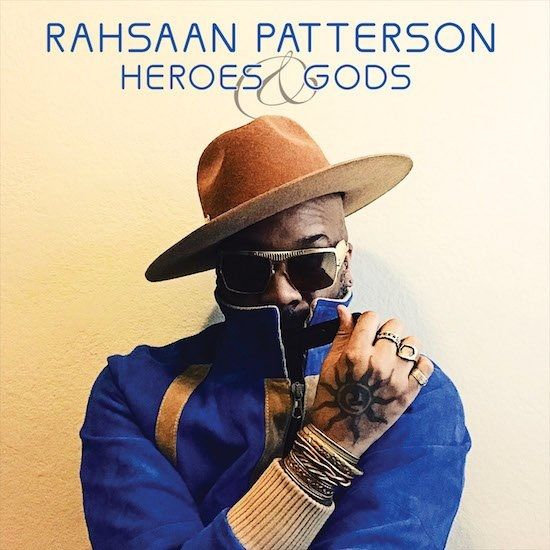 Rahsaan Patterson Heroes and Gods Album Cover