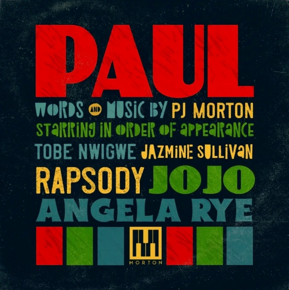 PJ Morton Paul Album Cover