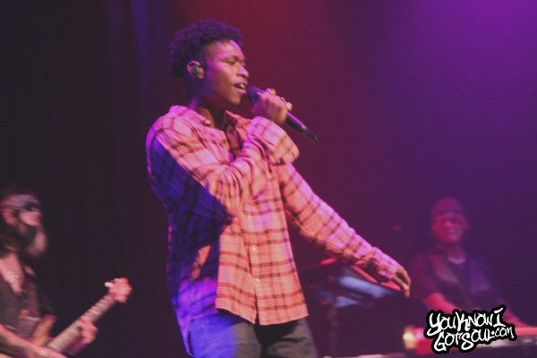 "Lucky Daye, Josh Dean & Ambré Performs on ""Painted"" Tour at Venue In Vancouver (Recap & Photos)"