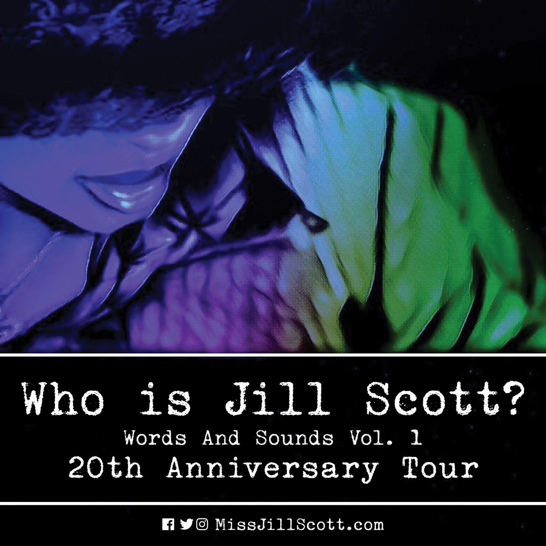 Jill Scott Tour Who Is Jill Scott Words and Sounds Vol. 1.
