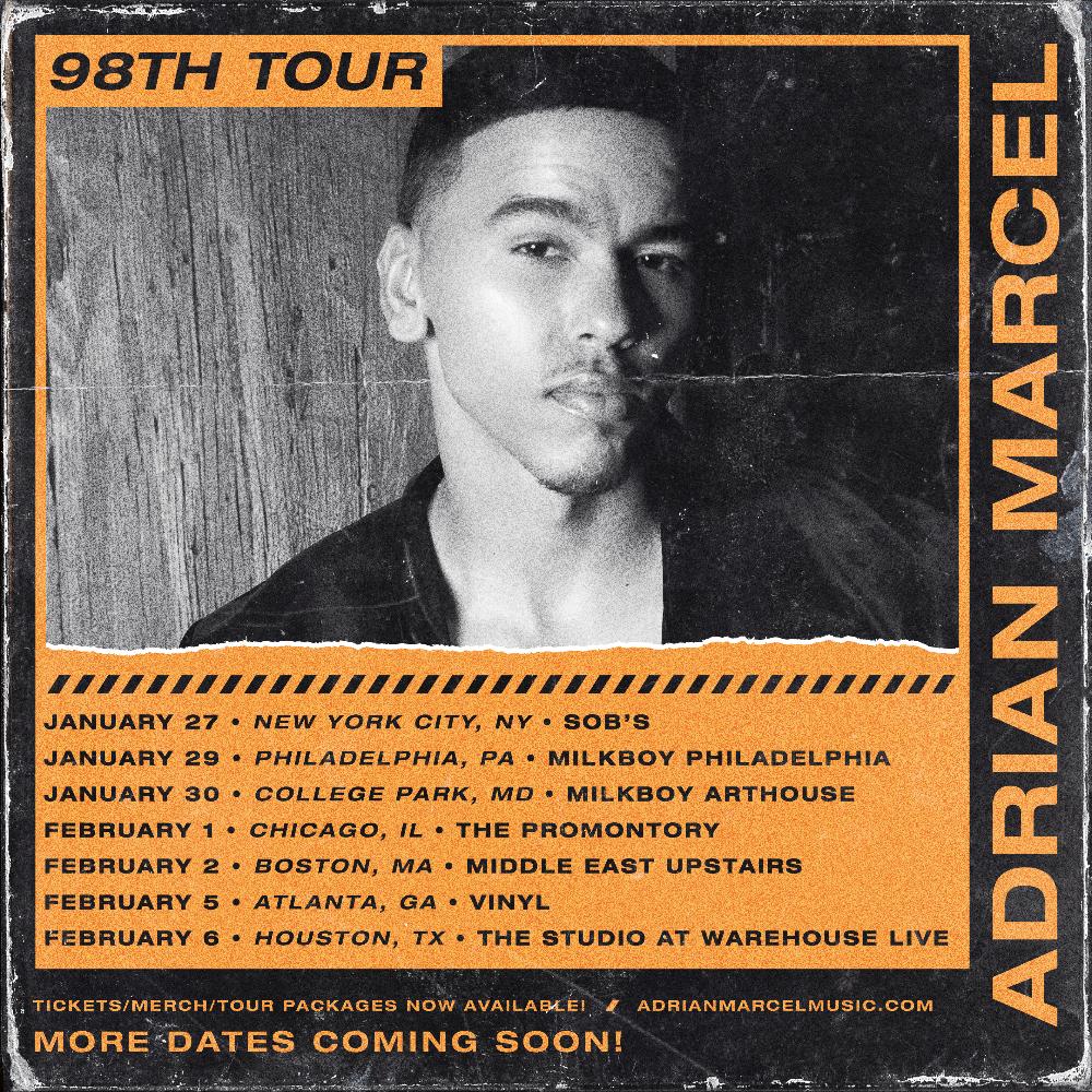 Adrian Marcel 98th Tour