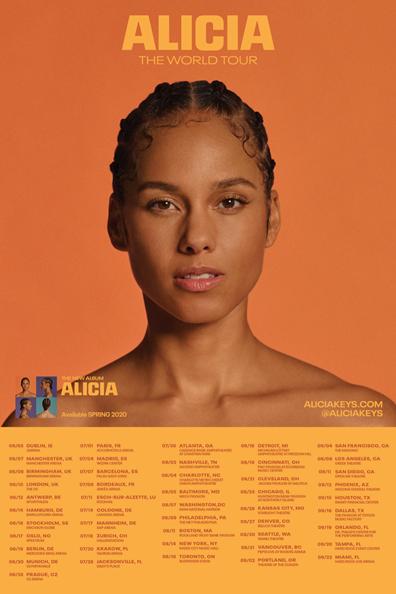 Alicia Keys Alicia Tour Flyer