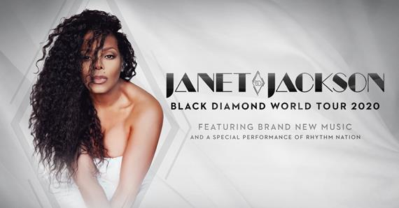 Janet Jackson Announces Black Diamond World Tour for Summer 2020
