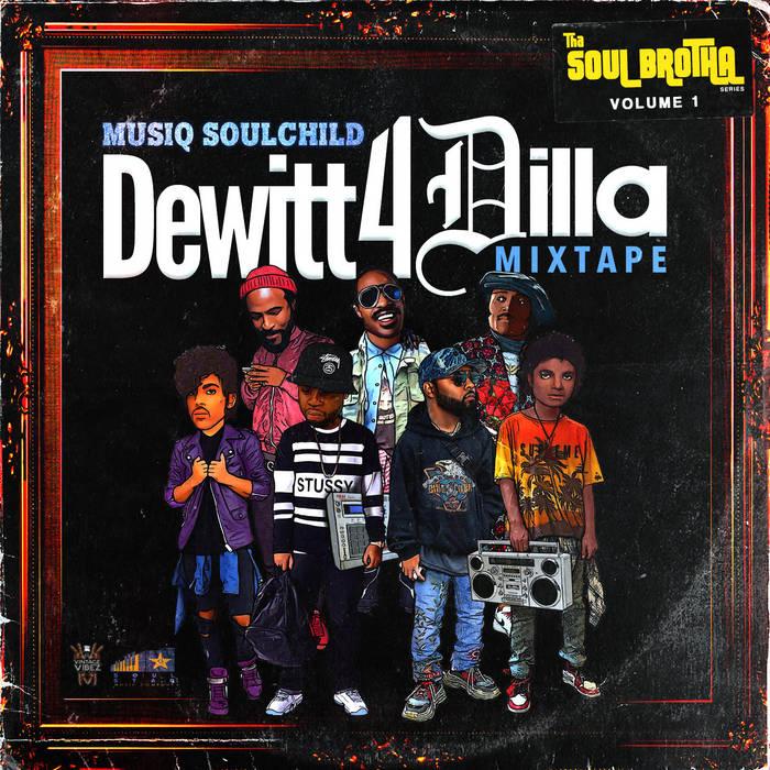 Musiq Soulchild Dewitt 4 Dilla MIxtape Cover