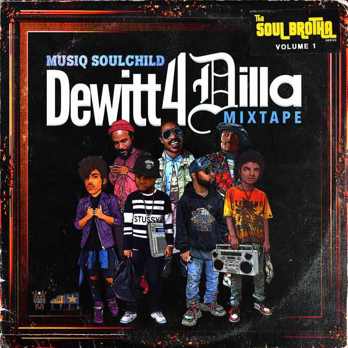"""Musiq Soulchild Releases """"Dewitt 4 Dilla"""" Mixtape With Cover Songs Inspired by J Dilla"""