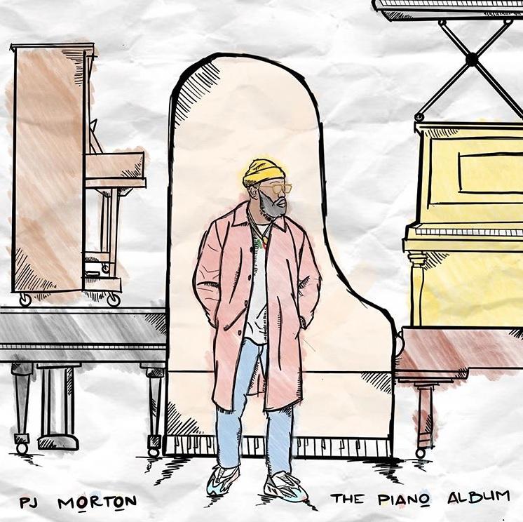 PJ Morton The Piano Album Cover