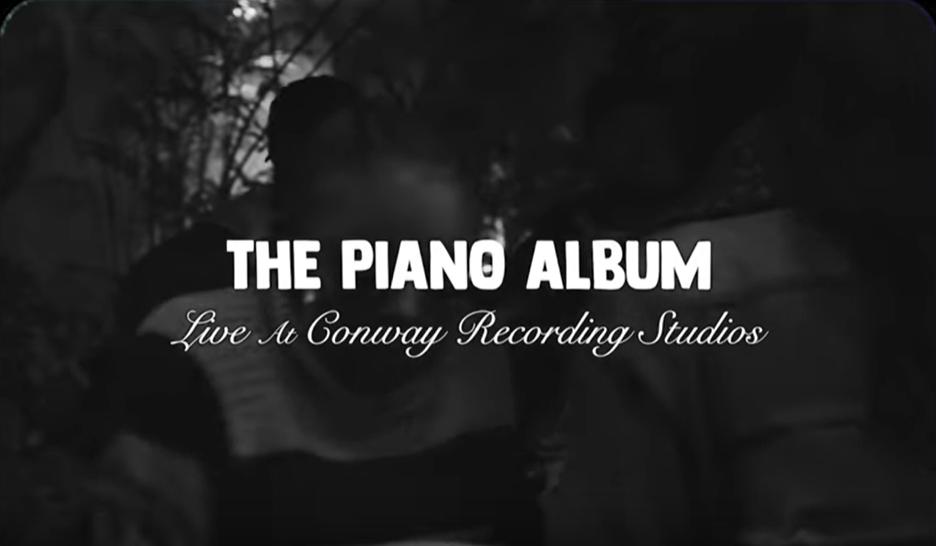 PJ Morton The Piano Album Live Video
