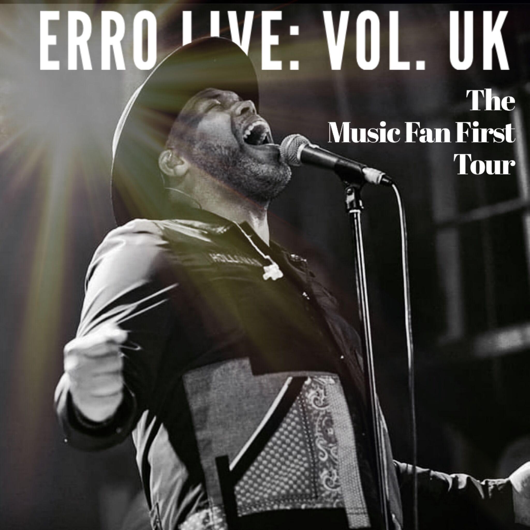 Eric Roberson Music Fan First Tour