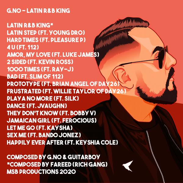 G. No Latin R&B King Back Cover