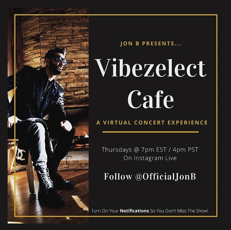 Jon B Vibezelect Cafe Concert