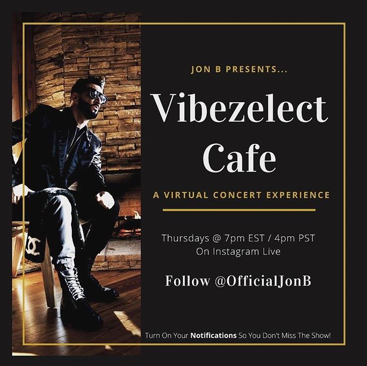 Jon B Vibezelect Cafe Concert