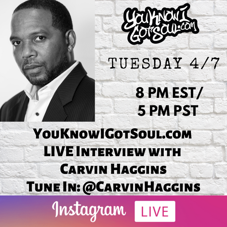 Carvin Haggins Talks Introducing Musiq Soulchild, His Writing Process, Creating His Biggest Hits (Exclusive)