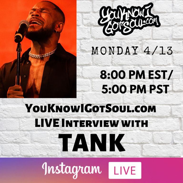 """Tank Talks """"While You Wait"""" EP, Return to Traditional R&B, Evolution of his Sound (Exclusive)"""