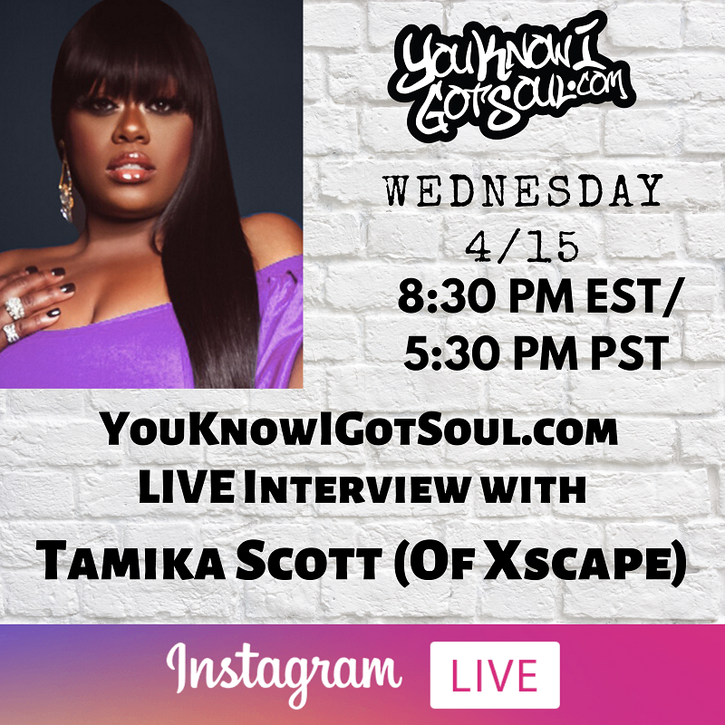 "Tamika Scott Talks Debut EP ""Family Affair"", Xscape Memories, Future of the Group (Exclusive)"