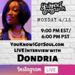 "Dondria Talks Upcoming EP ""Perspective"", Revisiting ""Dondria vs Phatfffat"" Album, Never Giving Up (Exclusive)"