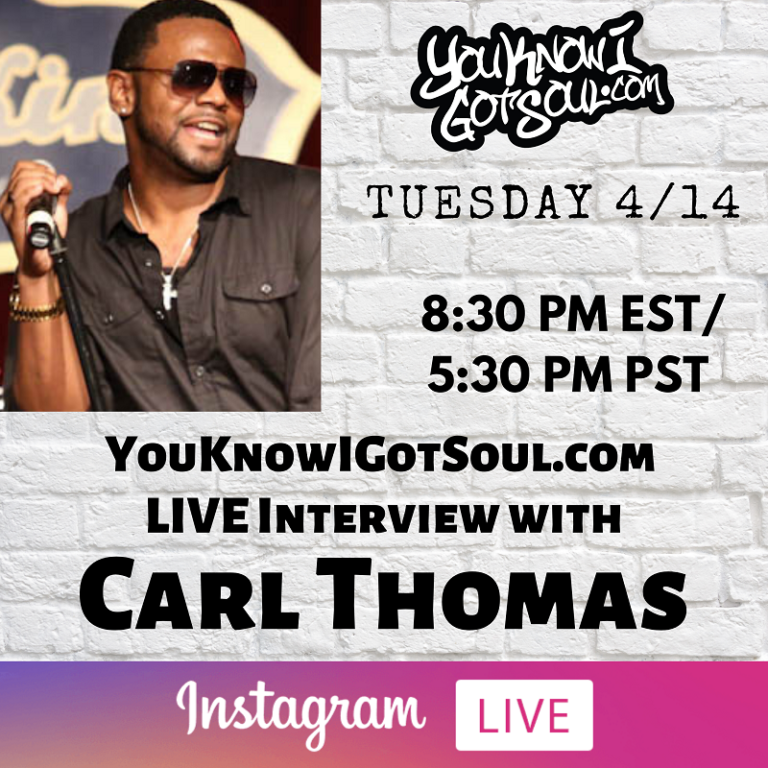 """Carl Thomas Talks 20th Anniversary of Debut Album """"Emotional"""", Story Of How He Signed to Bad Boy, New Music (Exclusive)"""
