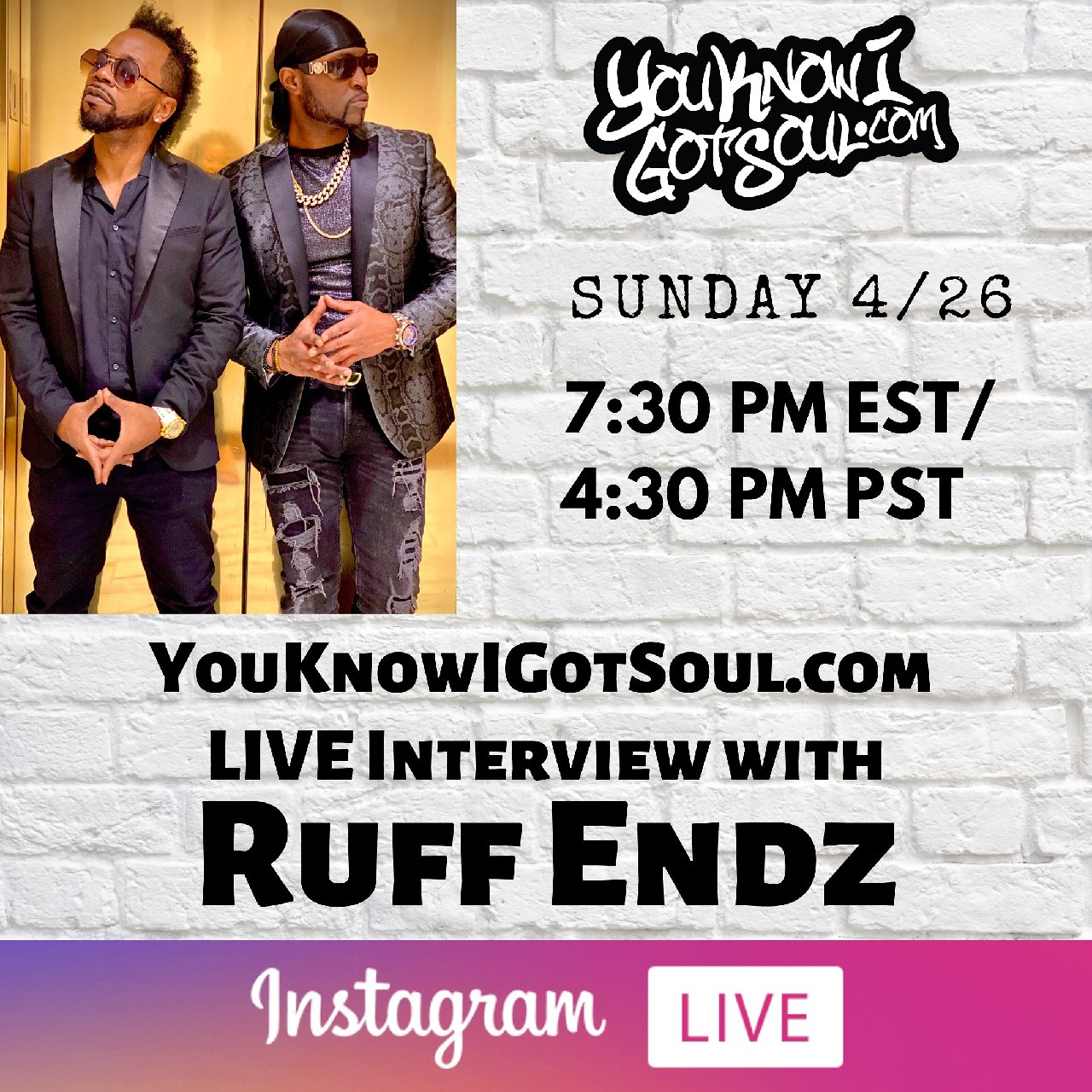 "Ruff Endz Talk ""Soul Brothers"" Album, Getting Signed, Creation of the Group (Exclusive)"