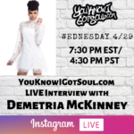 "Demetria McKinney Talks ""Officially Yours"" Album, History in Music, Upcoming Album (Exclusive)"