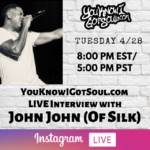 John John of Silk Talks New Solo Music, Group History & Legacy, Album Discussion (Exclusive)