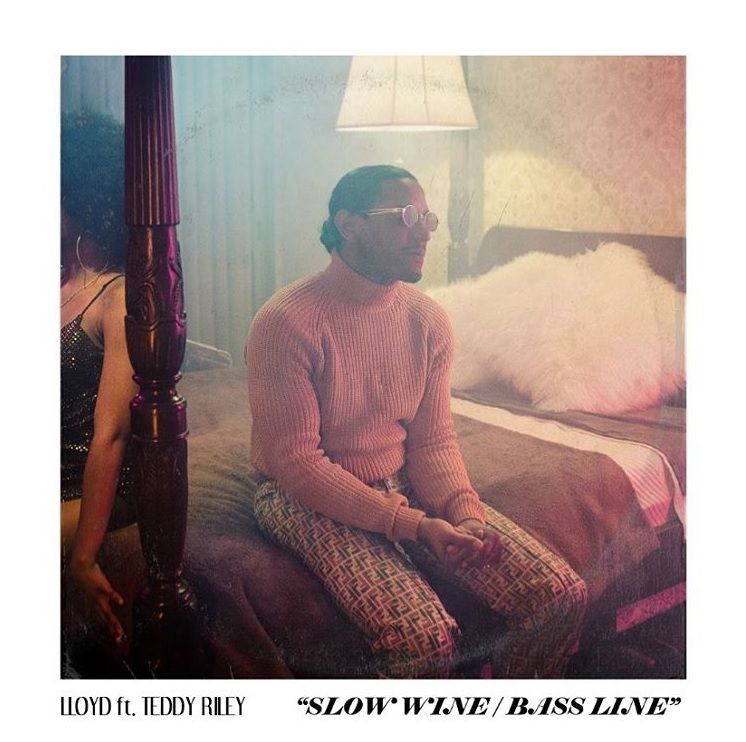 """Lloyd Links Up With Teddy Riley & Keith Sweat for New Single """"Slow Wine Bass Line"""""""