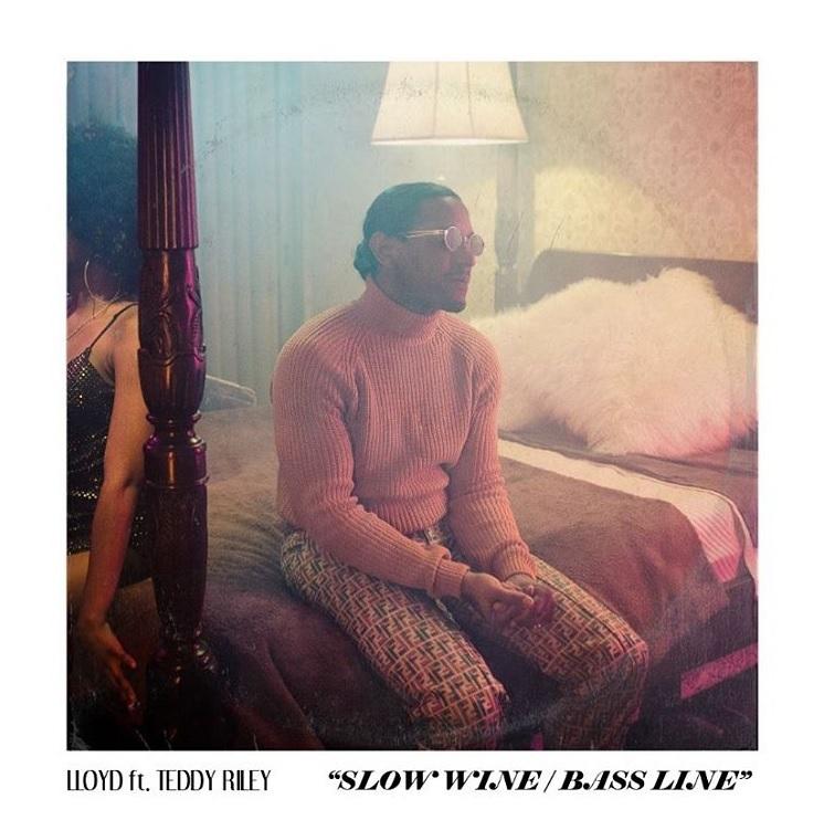 Lloyd Teddy Riley Slow Wine Bass Line