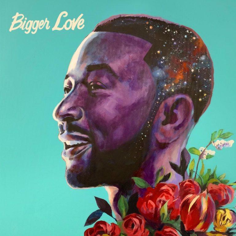 "John Legend Reveals Cover Art & Tracklist for Upcoming Album ""Bigger Love"""