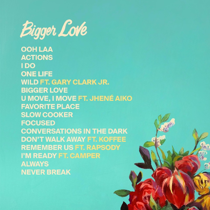 John Legend Bigger Love Back Cover