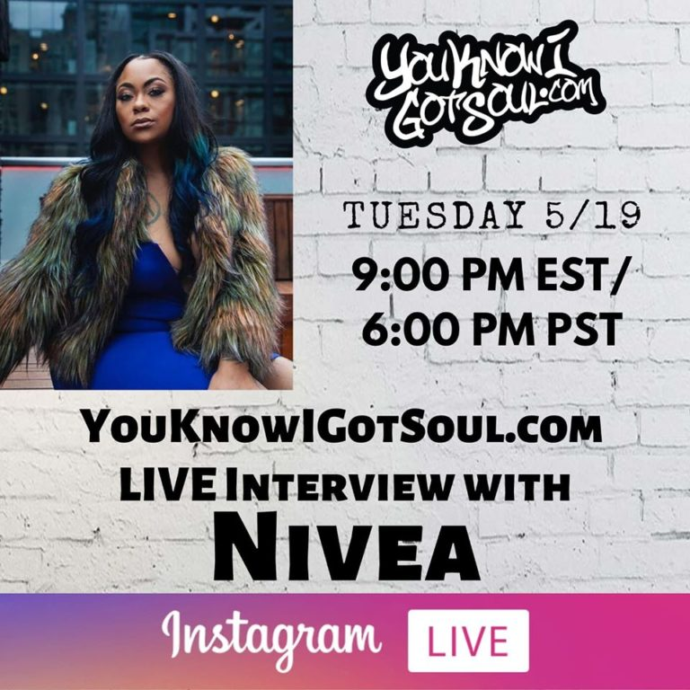 """Nivea Talks Latest Album """"Mirrors"""", New Entertainment Company & Reflects On Discography (Exclusive)"""