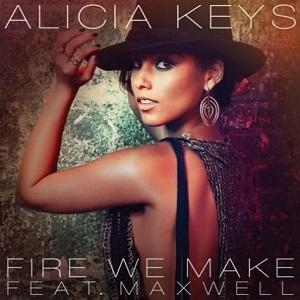Alicia Keys Fire We Make Maxwell