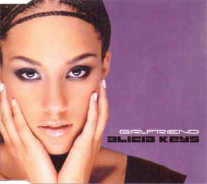Alicia Keys Girlfriend Single Cover