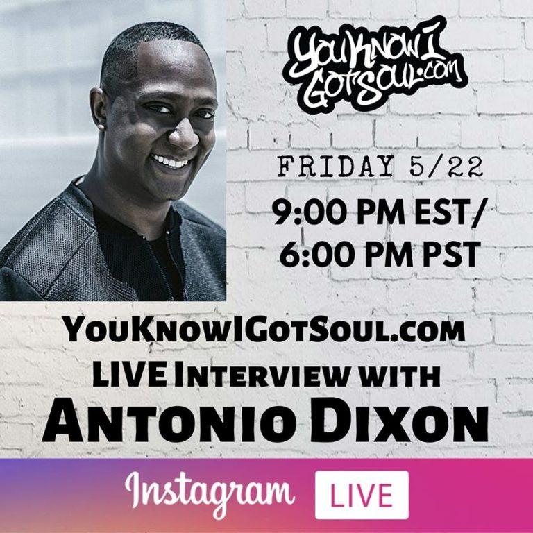 "Antonio Dixon Talks The Underdogs, Creating ""O"" by Omarion, Working on Toni Braxton's New Album"