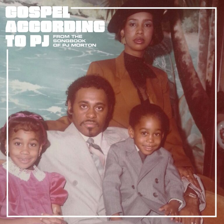 PJ Morton Gospel According to PJ Album Cover