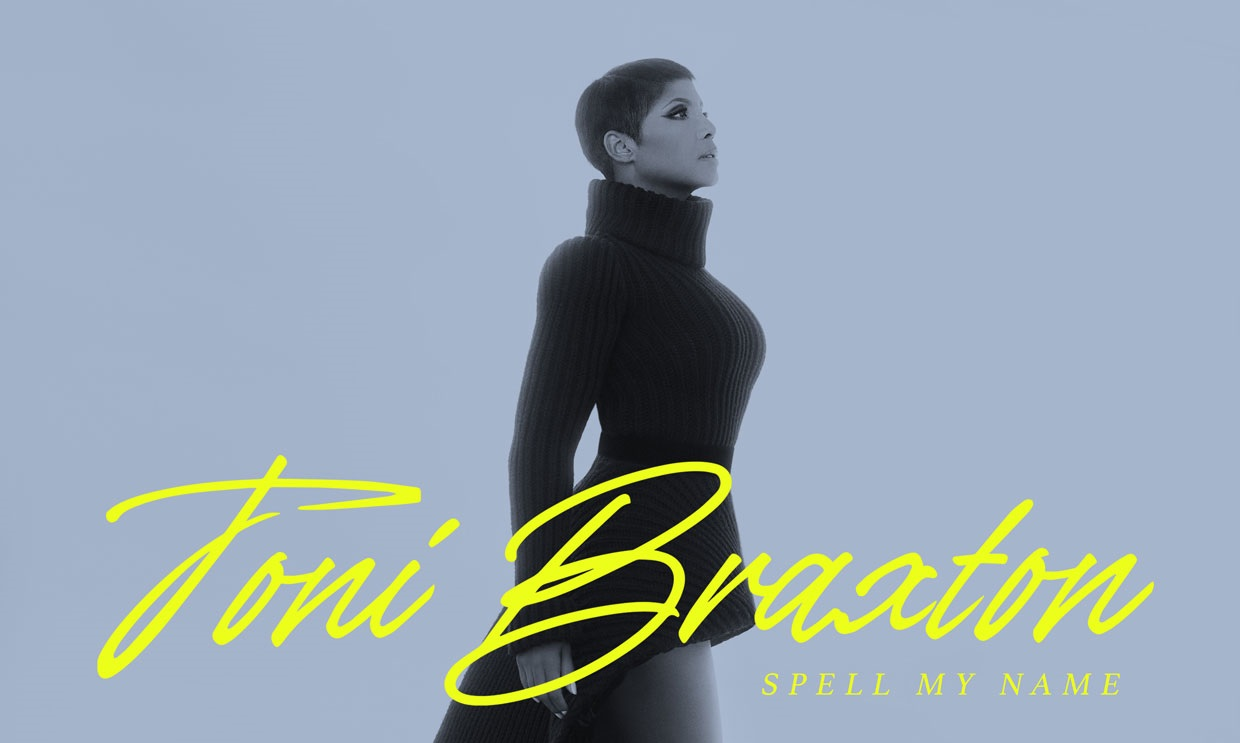"""Toni Braxton Unveils Cover Art & Release Date for Upcoming Album """"Spell My Name"""""""