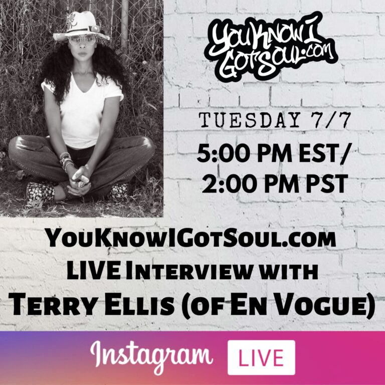 "Terry Ellis of En Vogue Talks New Single ""Angry Black Woman"", Group History & Solo Album (Exclusive)"