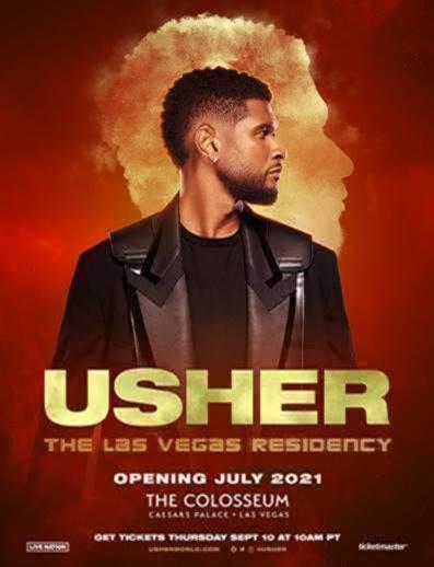 Usher Las Vegas Residency 2021