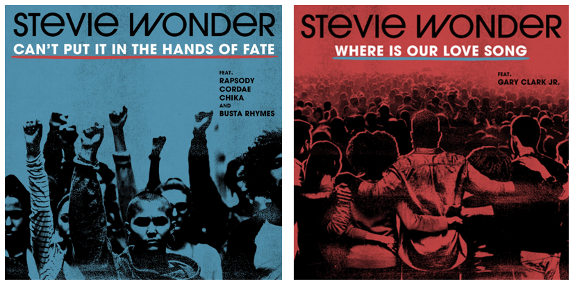 "Stevie Wonder Returns With New Songs ""Can't Put it in the Hands of Fate"" & ""Where is Our Love Song"""