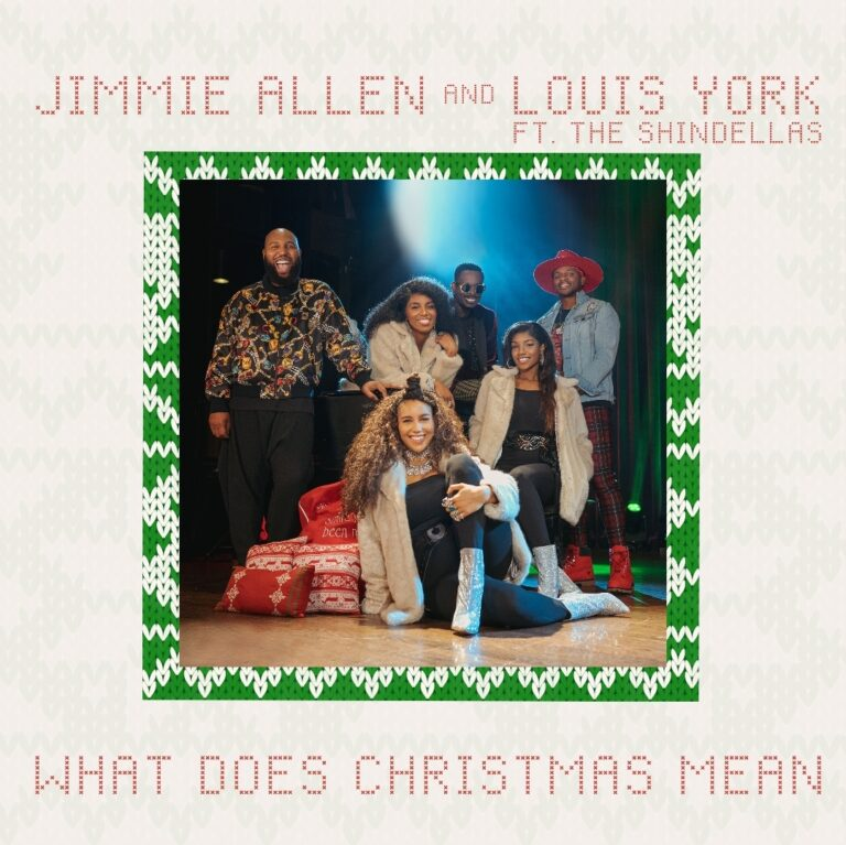 """Jimmie Allen Joins Louis York & The Shindellas for """"What Does Christmas Mean"""""""