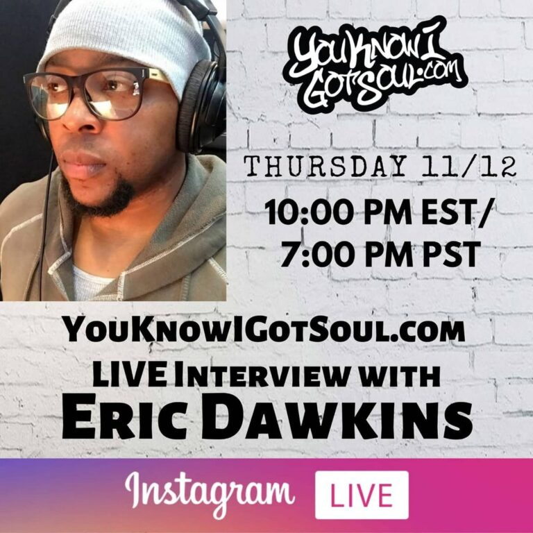 Eric Dawkins Talks Dawkins & Dawkins, History of The Underdogs, Writing for Tyrese & Tank (Exclusive Interview)