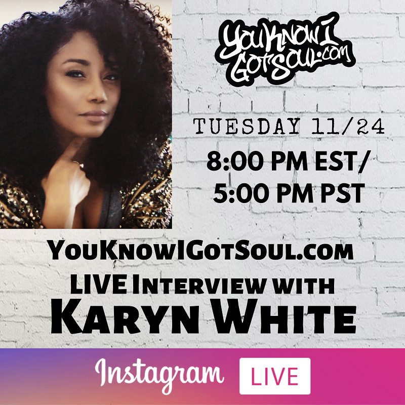 Karyn White Talks New Jack Swing, History in Music, Legacy, Hiatus, New Label & Artist (Exclusive Interview)