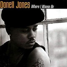 Donell Jones Where I Wanna Be Single Cover