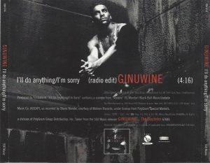 Ginuwine I'll Do Anything I'm Sorry