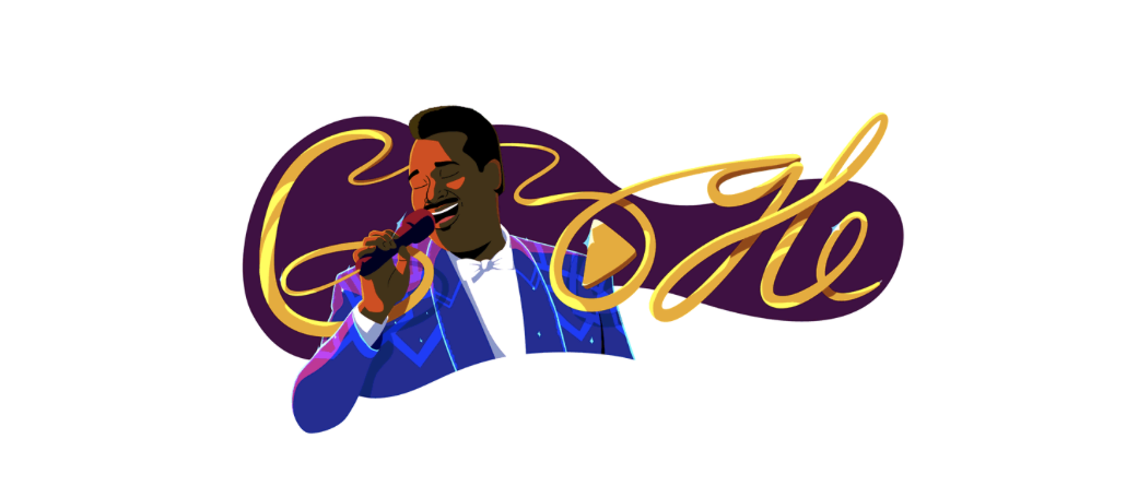Luther Vandross Video Doodle