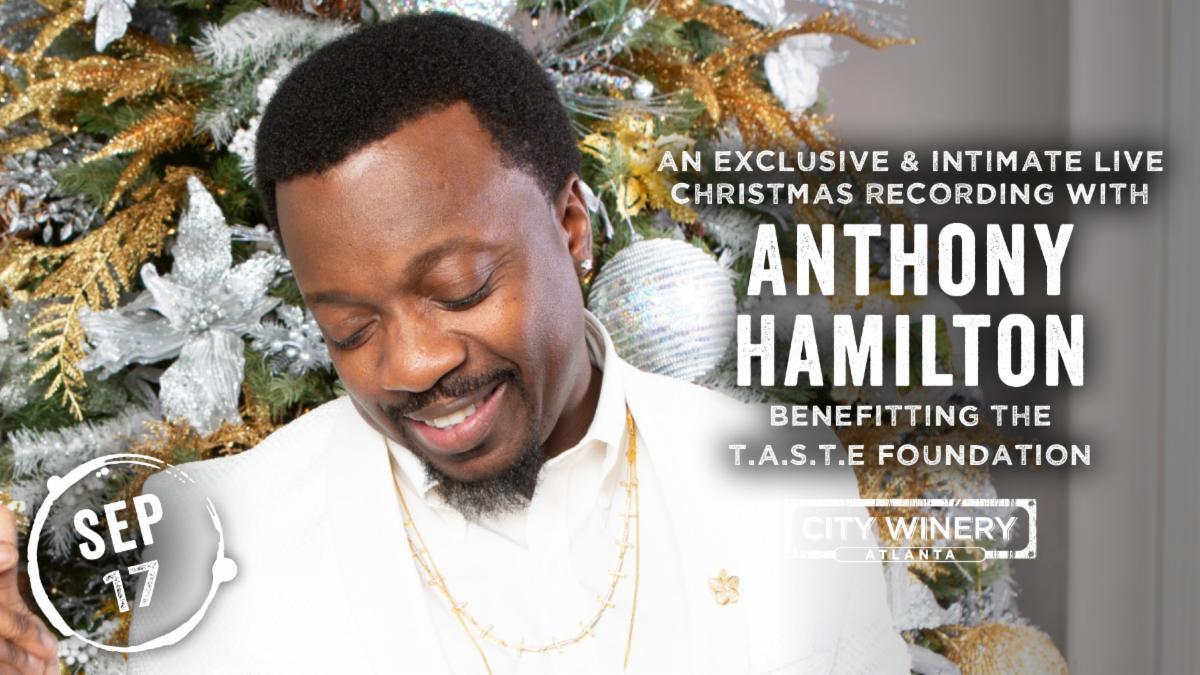 Anthony Hamilton City Winery Live Christmas Album